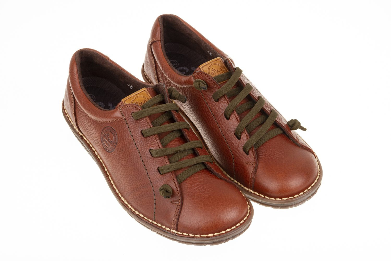 Zapato piel elásticos Atxa