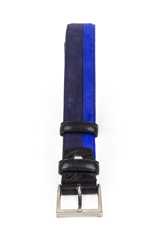 Cinturón serraje bicolor 953