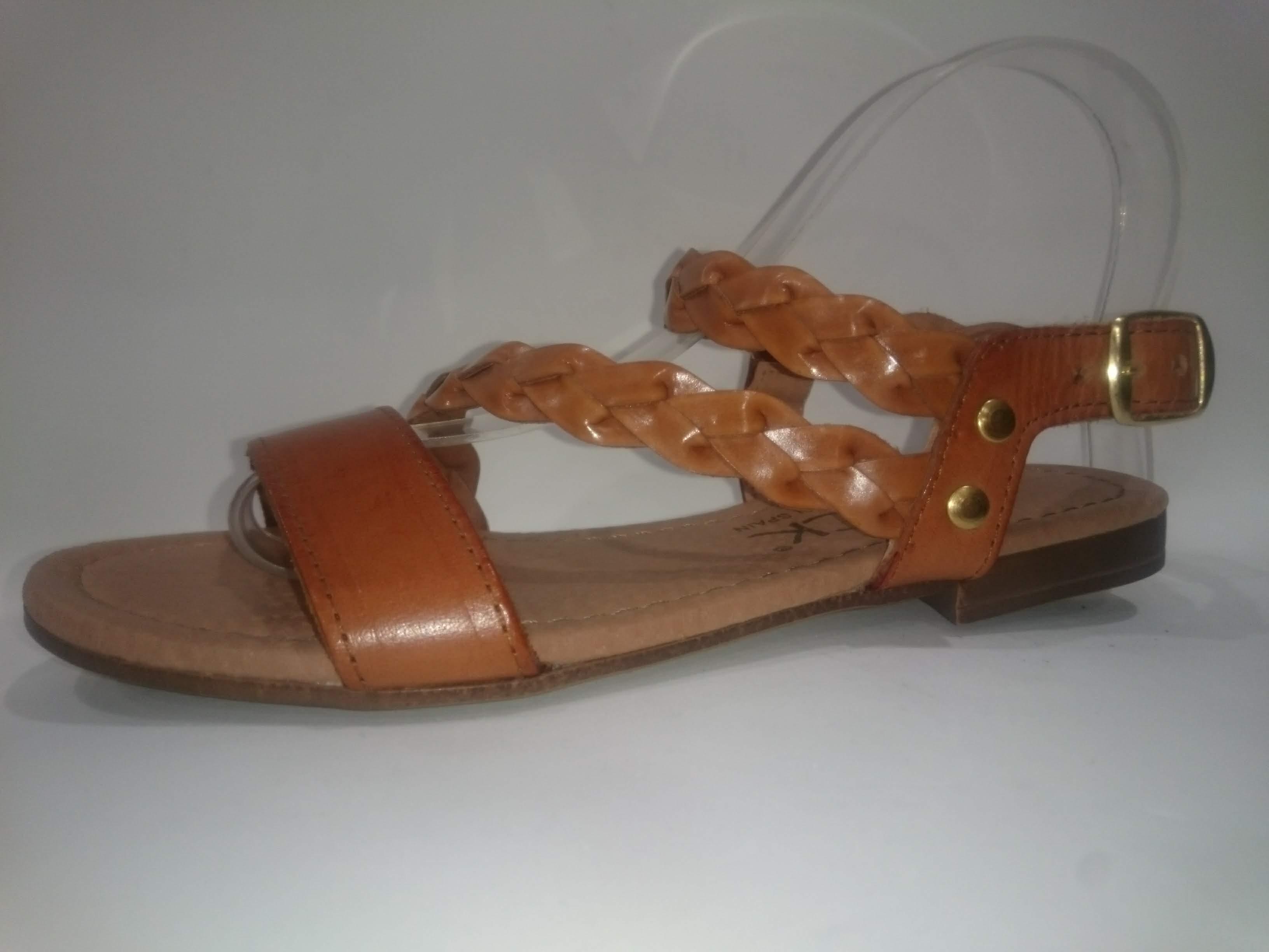 Sandalia piel Aback