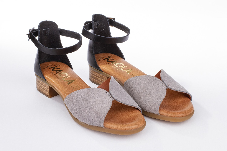 Sandalia corte V. combinada Kaola