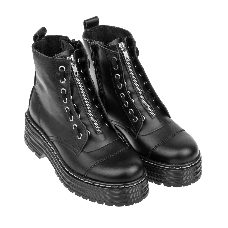 Militar estilo Marten´s solapa cremallera Bran´s