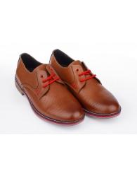 Zapato Vestir Piel Piso color Bran´s 13290
