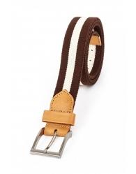 Cinturón elástico con piel 861