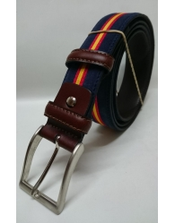 Cinturón piel decorado