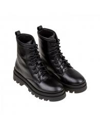 Militar piel piso bicolor cordones Lawren 3062/21